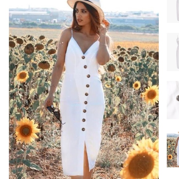 b00cde9c76e2 Mint Limit Dresses | Button Down Midi Dress | Poshmark